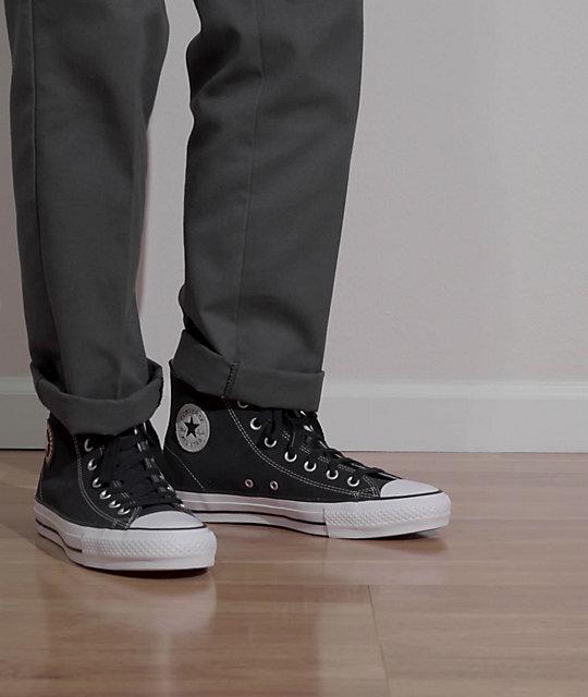 Converse CTAS Pro Hi Milton Martinez SOTY Black Skate Shoes | Zumiez