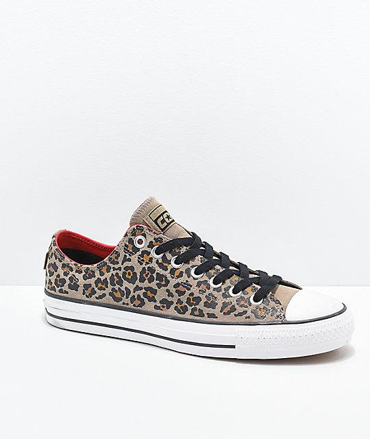 6d433d02aa3b Converse CTAS Pro Leopard Print Skate Shoes