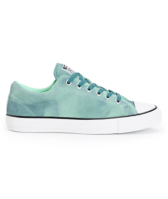 faa0ef9f1567 ... Converse CTS Ox Green   Peppermint Suede Shoes
