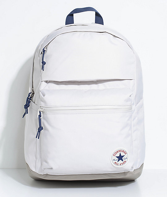 white converse backpack