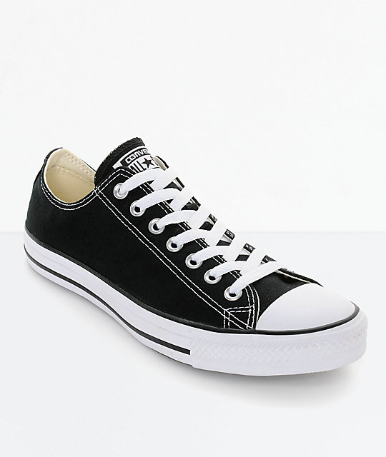 the best attitude dcd58 8ecc0 Converse Chuck Taylor All Star Black & White Shoes