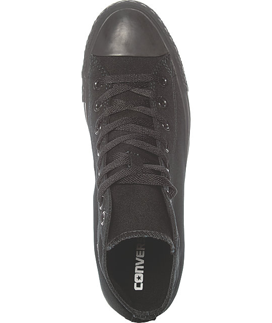 Converse Chuck Taylor All Star Black Hi Top Shoes
