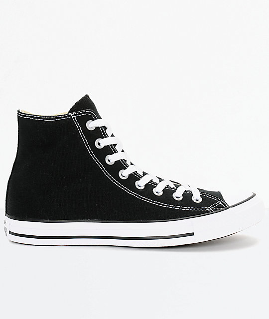 b8e9724280ef ... Converse Chuck Taylor All Star Black High Top Shoes ...