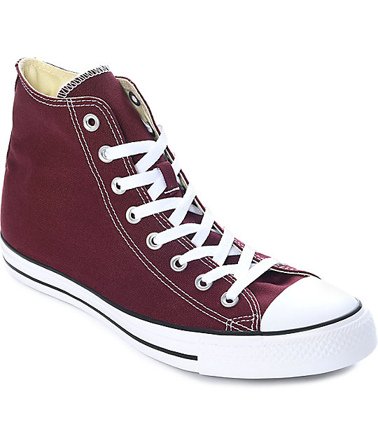 7379d74440bb Converse Chuck Taylor All Star Burgundy Shoes