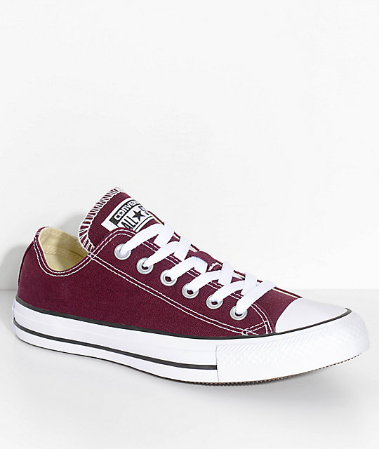 80798929f8a4 Converse Chuck Taylor All Star Dark Sangria Shoes