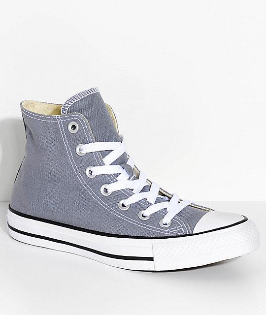 6f1c632b8f3c Converse Chuck Taylor All Star Hi Cool Grey Shoes