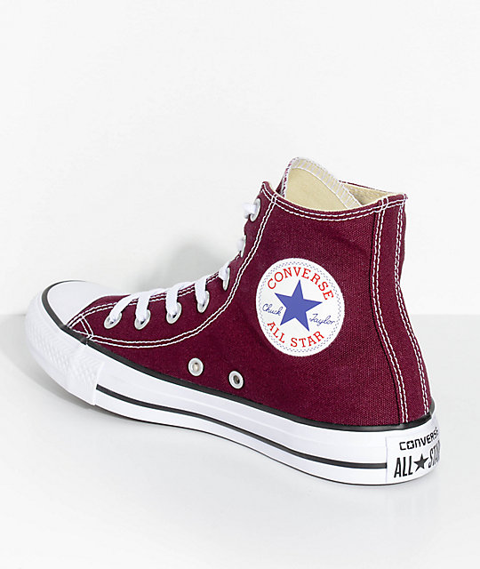 Converse Chuck Taylor All Star Hi Sangria Shoes