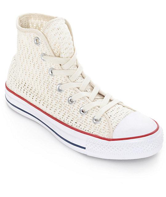Converse Chuck Taylor All Star Hi zapatos de croché en color ...