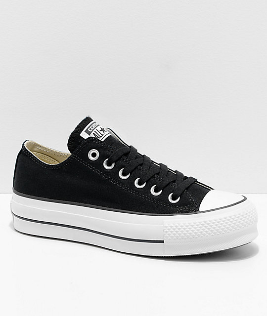 a91432157ec15 Converse Chuck Taylor All Star Lift Black   White Shoes