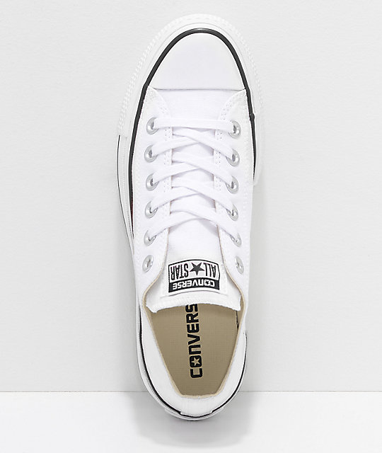 Converse Chuck Taylor All Star Lift White Shoes