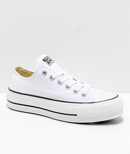 Converse Chuck Taylor All Star Lift White Shoes  8c62d36a1