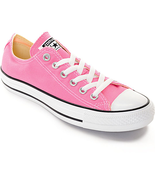 All Star Converse Chuck Taylor Shoes Low Pink xBdrCWoe