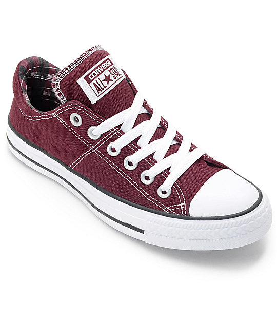 Converse Chuck Taylor All Star Madison Women's Casual Shoes Burgundy