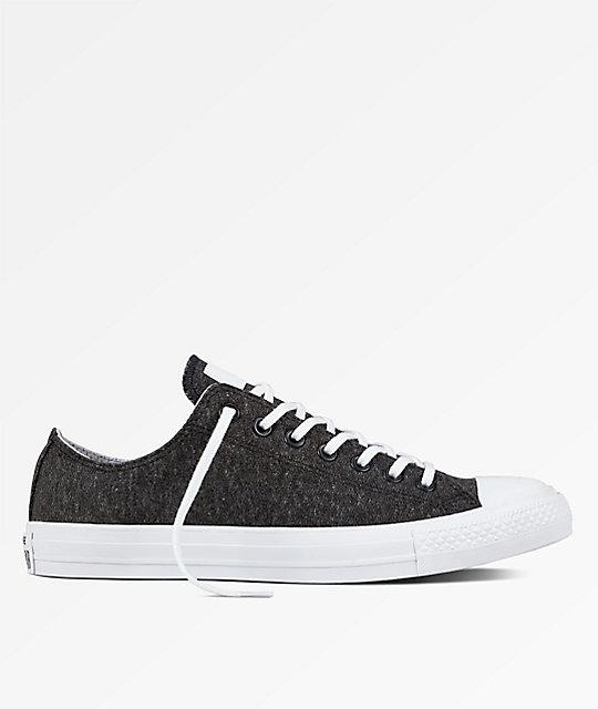 e882e4287efb Converse Chuck Taylor All Star Ox Black   White Shoes