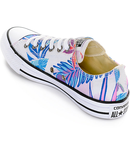 e06f6c270417 ... Converse Chuck Taylor All Star Ox Fresh Floral Print Shoes ...