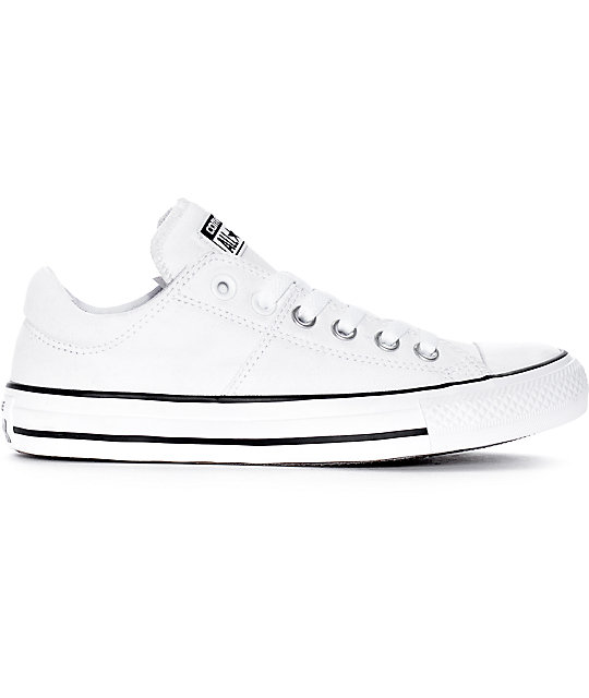 a0e8ec90e19506 ... Converse Chuck Taylor All Star Ox Madison White   White Shoes ...