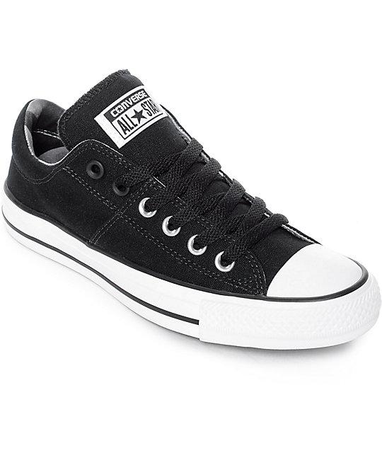 6dffcbaba880 Converse Chuck Taylor All Star Ox Madison zapatos en blanco y negro ...