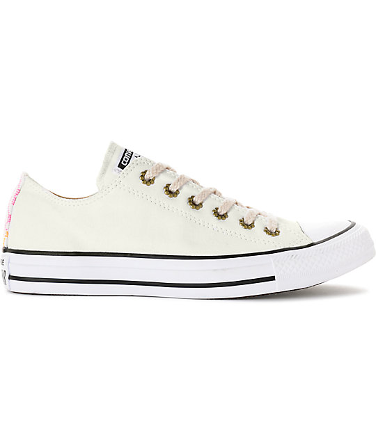 981aad634b8f ... Converse Chuck Taylor All Star Ox White Shoes