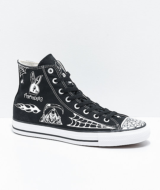 Converse Chuck Taylor All Star Pro Sean Pablo Black Skate Shoes