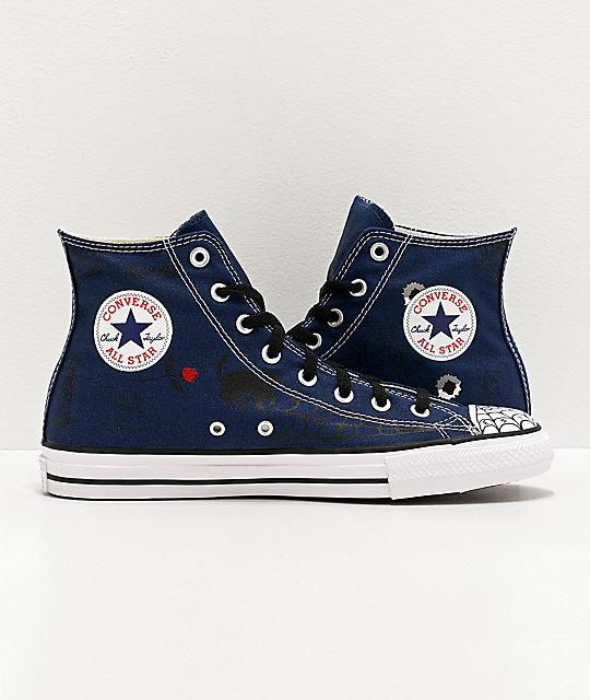 Converse Chuck Taylor All Star Pro Sean Pablo Navy Skate Shoes