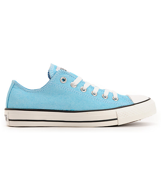 Converse Chuck Taylor All Star Washed Neon Blue Shoes