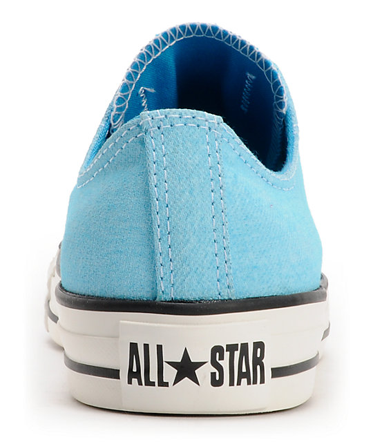 54d4d1d471985 ... Converse Chuck Taylor All Star Washed Neon Blue Shoes ...