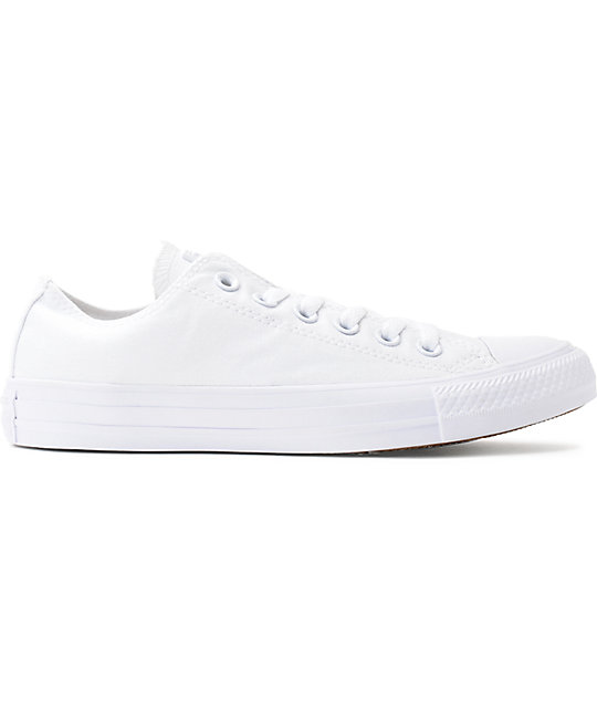 Converse Chuck Taylor All Star White Monochrome Shoes