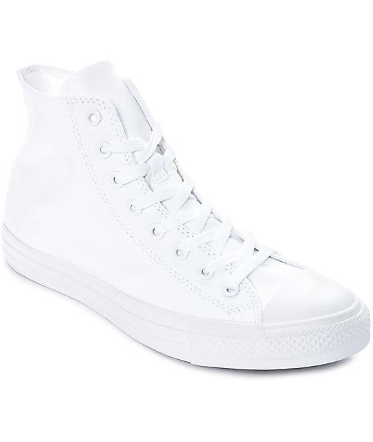 converse all star chuck taylor blancas