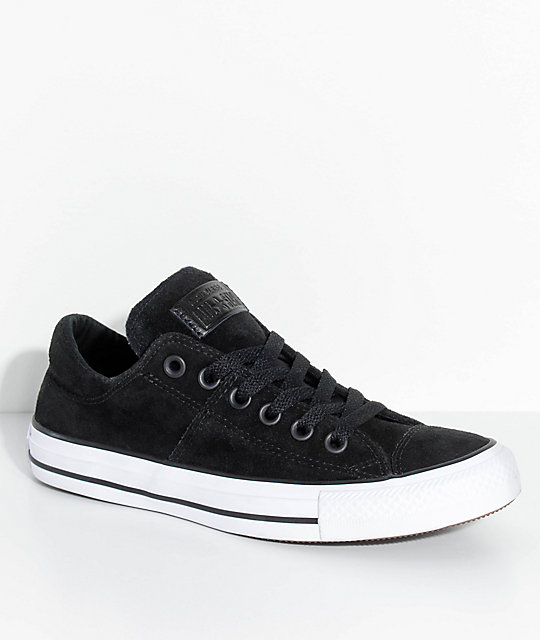 dc746c6dfd29 Converse Chuck Taylor All Stars Madison Black Suede Shoes