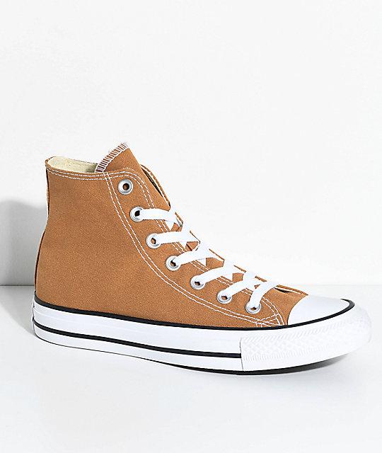 cheap for discount 30258 55c9e Converse Chuck Taylor Hi Raw Sugar Shoes
