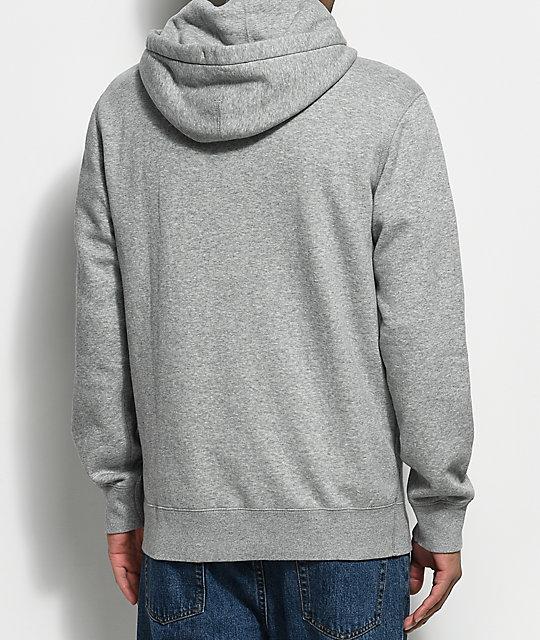 ee78143ca403 ... Converse Cons Star Chevron Athletic Grey Pullover Hoodie ...