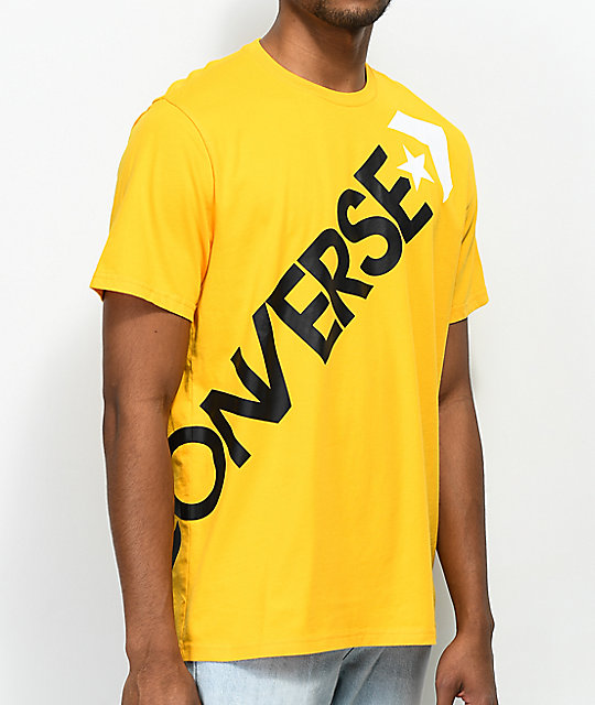 Converse Cross Body University Gold T-Shirt | Zumiez