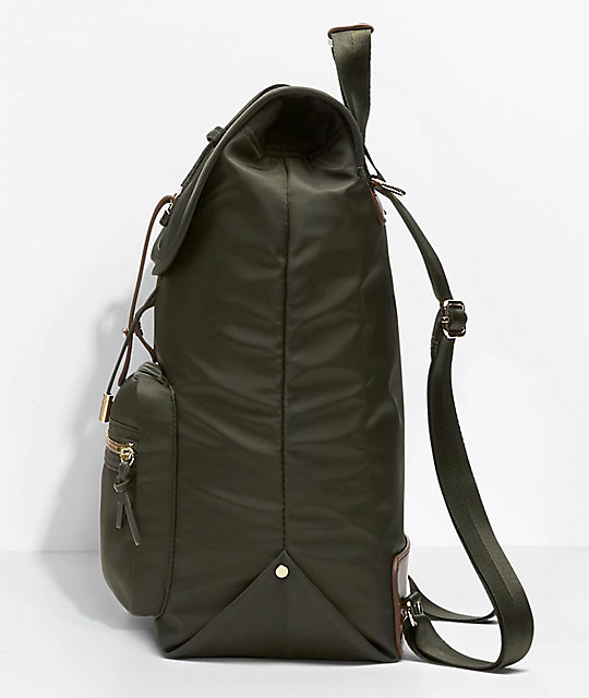 2abd55414859 ... Converse Fashion Sequoia Olive Backpack ...