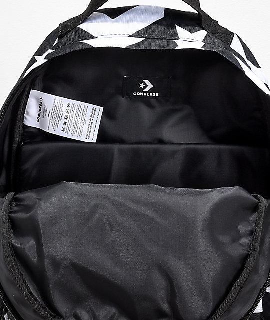 ba57fb2afb52 ... Converse Go Black   White Backpack