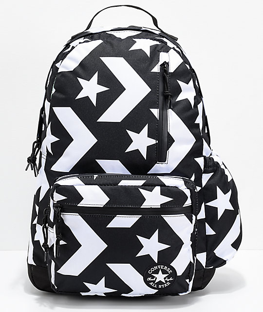 3a76c87511 Converse Go Black   White Backpack