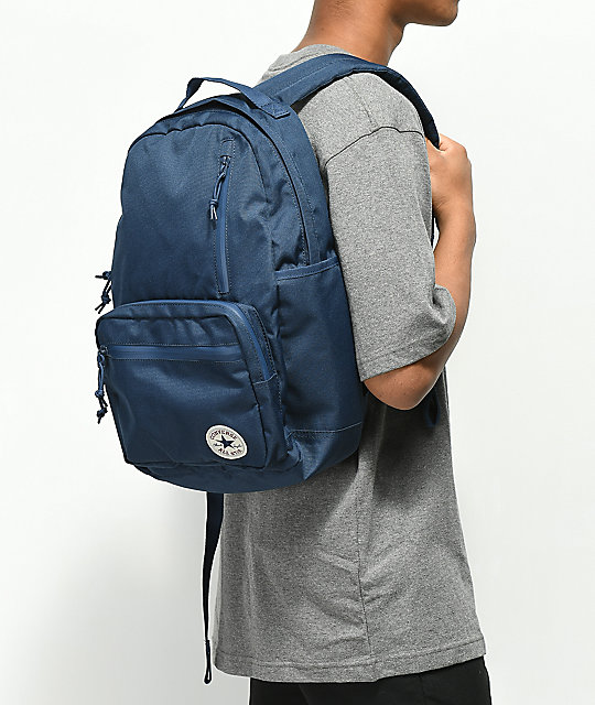 bab424d4a Converse Go Navy Backpack; Converse Go Navy Backpack ...