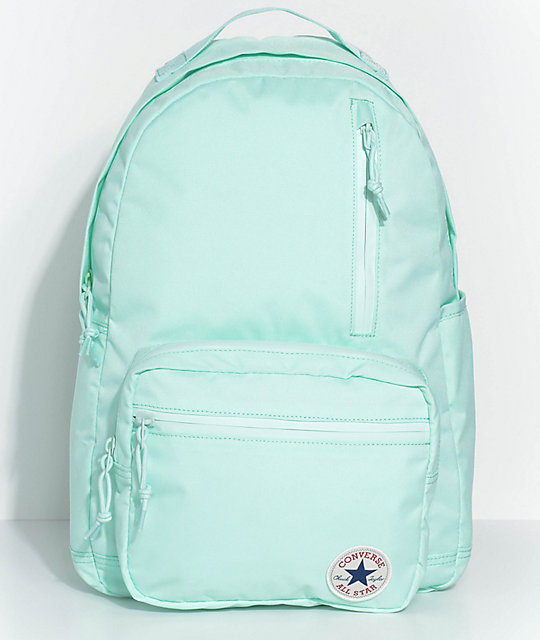 converse backpack blue