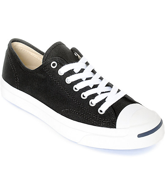 7b174069219 Converse Jack Purcell Black   White Shoes