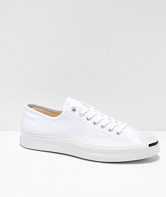 469cc382f447 Converse Jack Purcell Pro 1st In Class White Skate Shoes