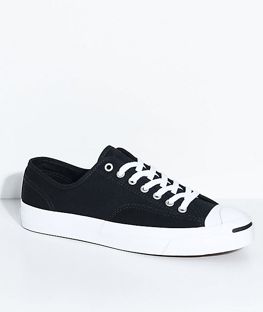 0f1d13bfb25 Converse Jack Purcell Pro Black   White Shoes