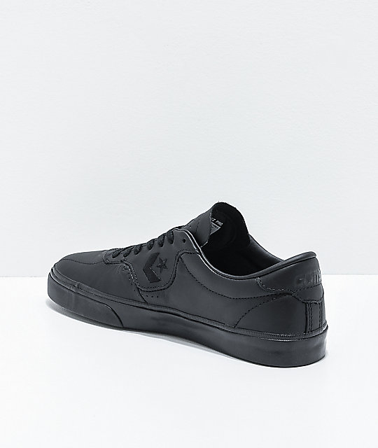 Converse Louie Lopez Pro Black Leather Skate Shoes