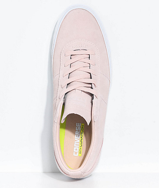 Converse One Star CC Pro Dusty Pink & White Skate Shoes