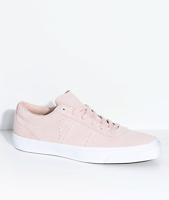 c9470d345d55 Converse One Star CC Pro Dusty Pink   White Skate Shoes