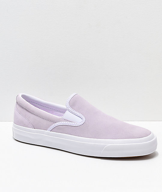 4ccd757351eb Converse One Star CC Slip-On Barely Grape   White Skate Shoes