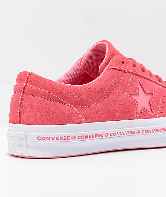 red converse one star 3cfc05932