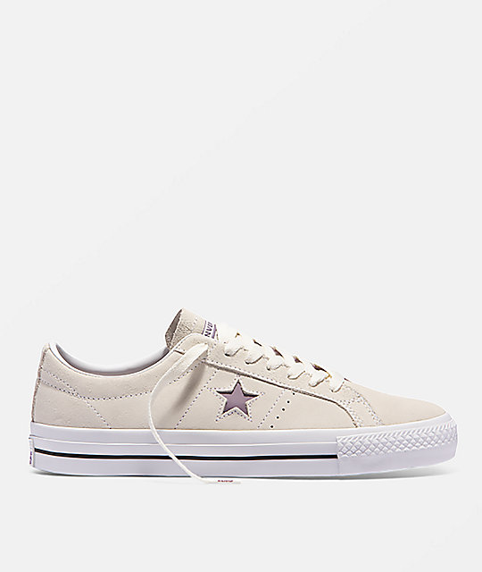 0e1ba6082f52 Converse One Star Pro Egret