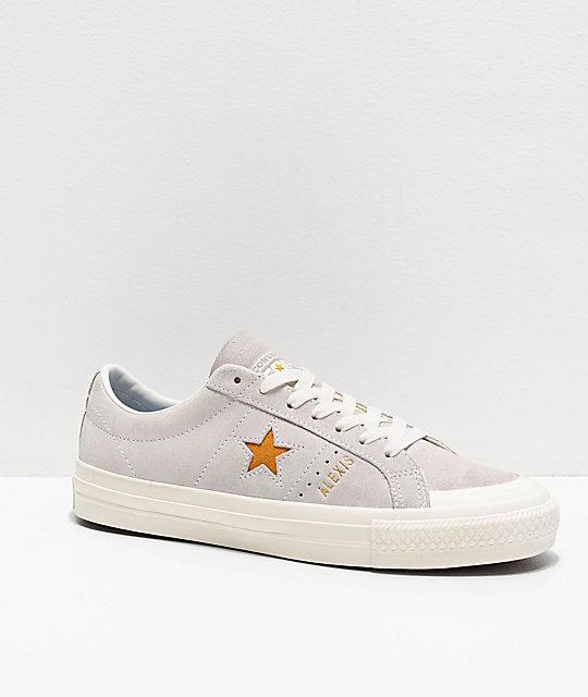 converse one star blancos