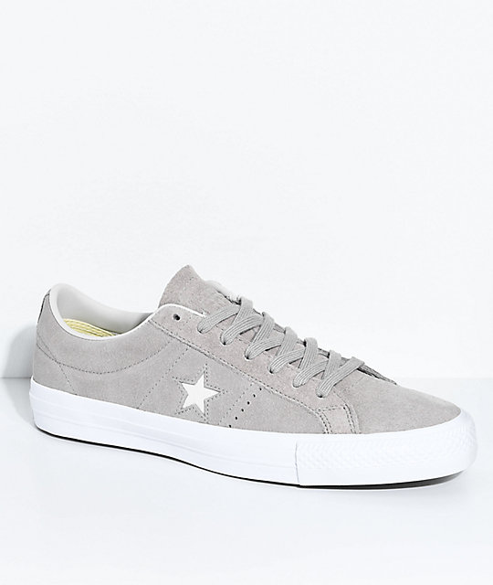 37a10f2b5ec7 Converse One Star Pro Malted   Pale Putty Skate Shoes