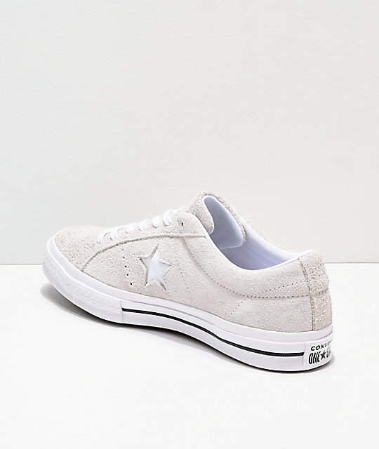 Converse One Star Pro Oxford White Skate Shoes
