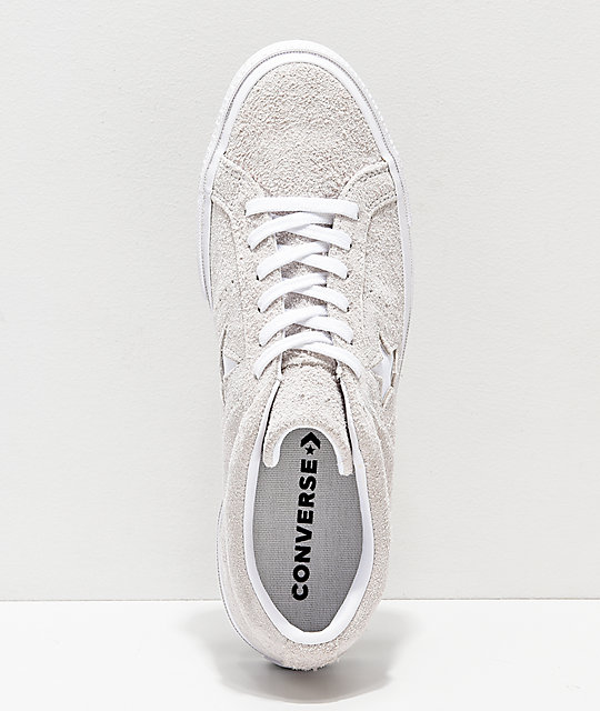 Converse One Star Pro Oxford zapatos de skate blancos